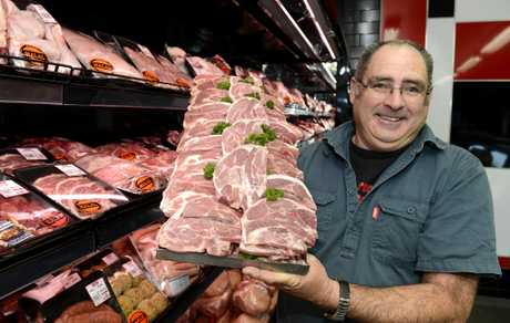 Angliss Meats manager Peter McCullagh encourages customers to stock up on lamb while the prices remain reasonable.