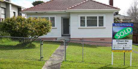 This two-bedroom house on more than 800sq m of land at 23 Watea Rd, Sandringham, Auckland, was valued at $720,000 but fetched $1.1 million at auction.