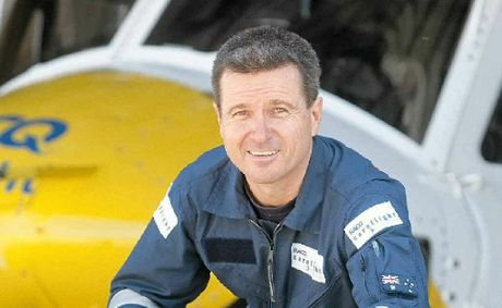 RACQ CareFlight paramedic rescue crew member Brad Solomon is preparing to cycle from Coolangatta to Toowoomba in a day.