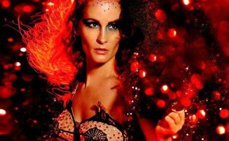 Burlesque entertainer Rita Fontaine will visit Toowoomba for a one-off show.