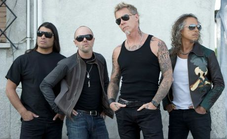 American metal gods Metallica