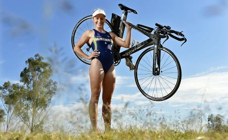 QT-City of Ipswich July sportstar Hannah Linde is representing Australia at the world triathlon championships.