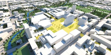 Plans for the Christchurch city rebuild