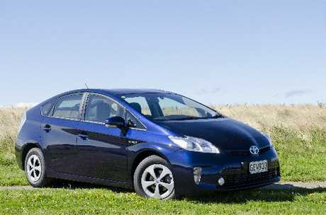 Toyota Prius: Designed to keep fuel use to a minimum.