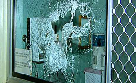 More than 60 windows were smashed at Lockyer District High School.