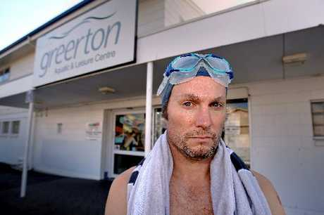 Scott Furness is angry that Greeton Pool is closing for a month for maintenance.