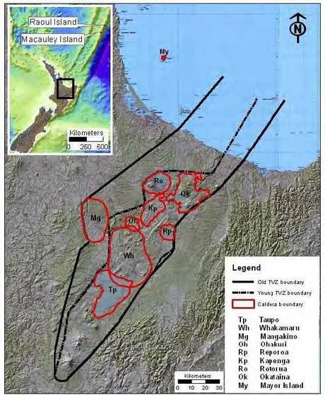 The Bay's volcanoes have earned the unenviable title of being major civil defence risks, led by the Taupo Volcanic Zone which is the most active caldera system in the world.