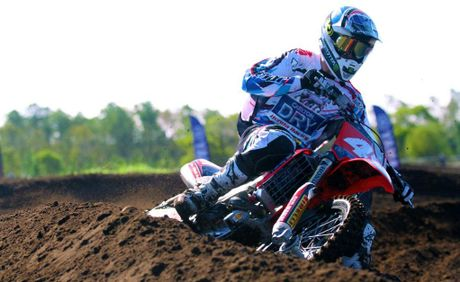 Ford Dale in action at the MX National Finals in Coolum.