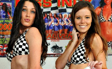 Bundaberg's Miss Indy entrants Jodie Montgomerie and Loren Corrigan are set to fight it out.