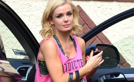 Katherine Jenkins is hurt over David Beckham story.