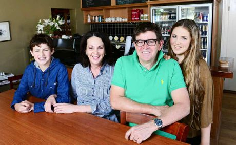 The Ulster Hotel in Brisbane St has reopened with major renovations after last year's floods, and owners Bev and Peter Johnston and their children, Declan and Chloe, are pleased.
