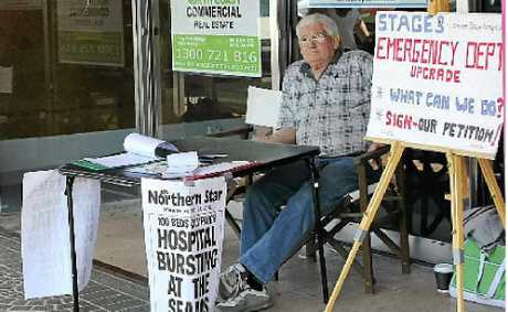 John Bigelow from Our Health says Lismore Base needs more beds.