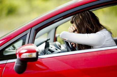 PULL OVER: Tiredness can creep up on an unsuspecting driver without frequent breaks.