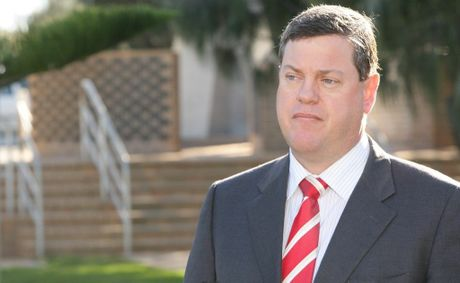 Treasurer Tim Nicholls' AAA rating will be achieved through asset sales or higher taxes.
