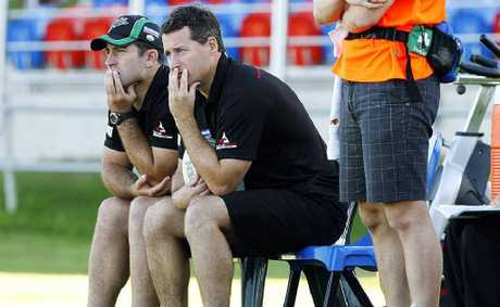 Ipswich Jets co-coaches Shane and Ben Walker have shared the Queensland Cup coach of the year award.