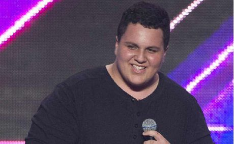 Judah Kelly makes the cut at the X-Factor auditions on the Gold Coast.