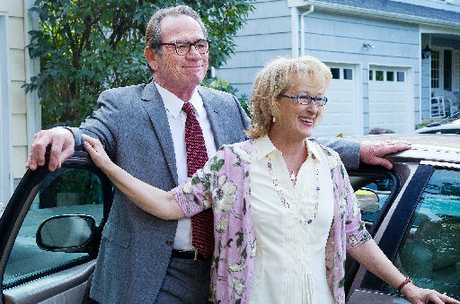 Meryl Streep and Tommy Lee Jones play a couple needing therapy in Hope Springs.