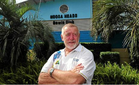 Noosa Heads Bowls Club management committee chairman Richard Wales after the club purchase.