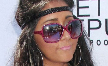 Jersey Shore's Snooki, who just recently had her first child.