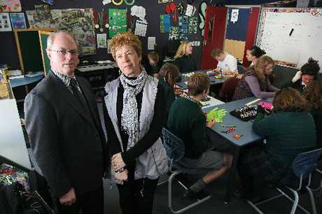 Otumoetai College principal Dave Randell and special-needs teacher Rene Woest are staggered by the Education Ministry&#39;s refusal to provide funding for some special-needs students.