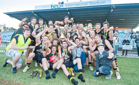 AFL Grand final: Sawtell/Toormina Saints vs Grafton Tigers at BCU Stadium. Photo: Rob Wright/The Coffs Coast Advocate.