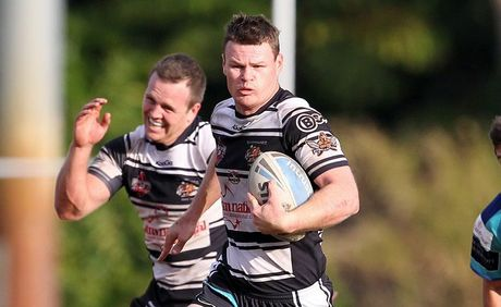 Brad Davis gives it his all as the Tweed Heads Seagulls emerged victorious at the weekend.
