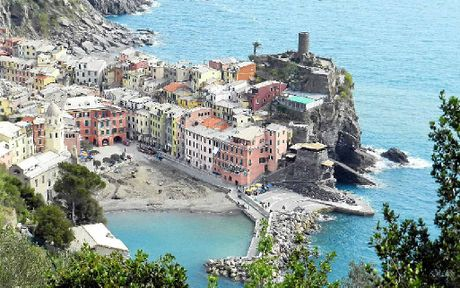 Vernazza, on the way back to its former glory.