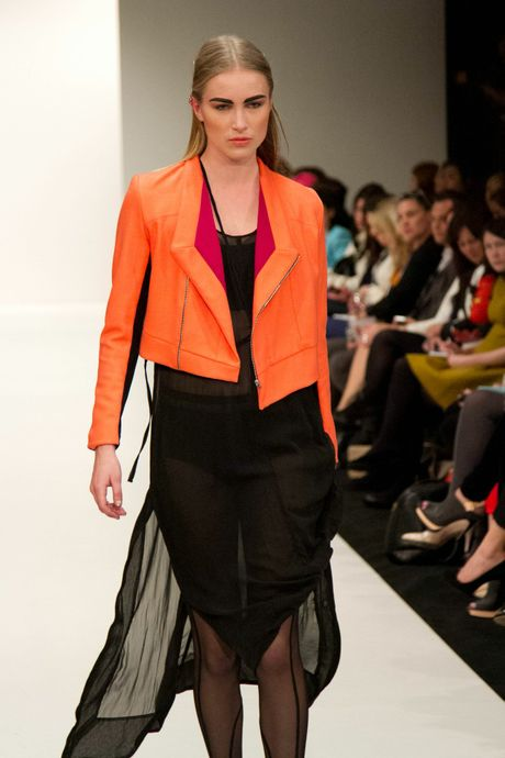 Highlights from the Company of Strangers debut collection shown at New Zealand Fashion week on September 4.