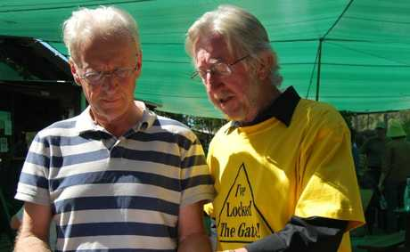 Lock the Gate - Tweed's Michael McNamara talks about the CSG-free Communities Initiative with Tweed mayor Barry Longland.