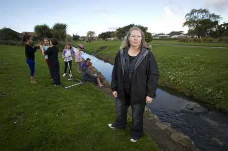 Dianne Roulston enjoys Owairaka Park but wishes they could have access to Underwood Parks cycleways.