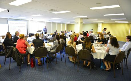 The Real Estate Institute of Queensland held a breakfast at Rydges Hotel for local REIQ members on Wednesday morning.