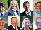 The candidates for Coffs Harbour City Council mayor.