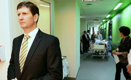 Minister for Health Lawrence Springborg MP unveils the worlds fastest CT Scanner at Ipswich Hospital. 