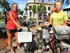 French nationals Bruno and Isabelle Frebourg have cycled 69,000km in the past six years and have many more places to visit.
