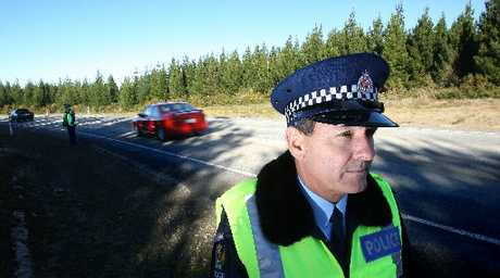 Western Bay of Plenty road policing manager Senior Sergeant Ian Campion.