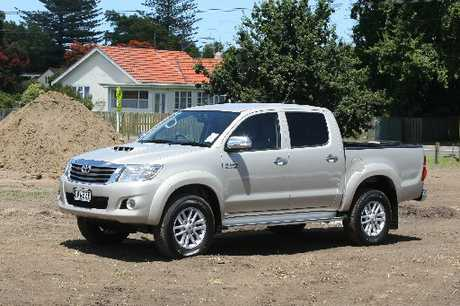 CHOICES: Fuel-efficient cars were not always an option for rural drivers, who opted for vehicles such as the Toyota Hilux.