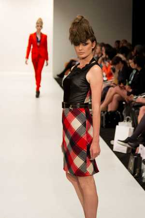 Highlights from Andrea Moore&#39;s autumn/winter 2013 collection, titled The Hunt, shown at New Zealand Fashion Week on September 5.
