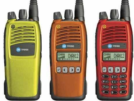 A case containing Tait hand-held radios was stolen in a burglary of a Cole St home in Dannevirke on Monday.