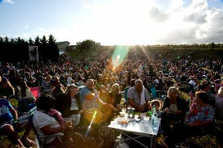 SWEET AS: Crowds at the Classic Hits Winery Tour concert at Alana Estate, Martinborough, last year. PHOTO/SUPPLIED