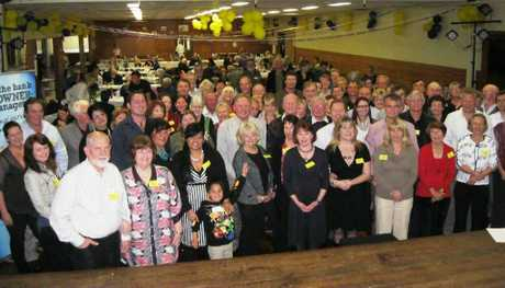 Last year&#39;s Blackall Range welcome dinner attracted more than 100 people