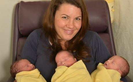 Chenoa Trama gave birth naturally to triplets Isaac Daniel, Dylan David and Ailah Elizabeth.