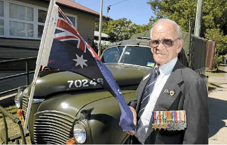Former Rat of Tobruk Gordon Wallace, 90, a special guest at the Nambour Operation Bulimba memorial service, reckons Australian troops should withdraw from Afghanistan.
