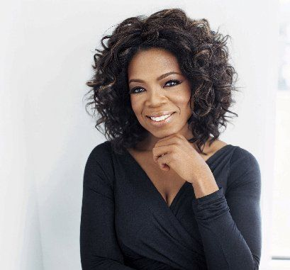 Oprah Winfrey tends to be an 'apple' shape.