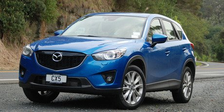 Mazda's CX-5 lets you get the job done in comfort.