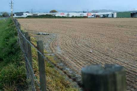 VALUE ADDED: The site of the new food hub where food businesses will be able to develop and share facilities. PHOTO/WARRREN BUCKLAND HBT123759-01