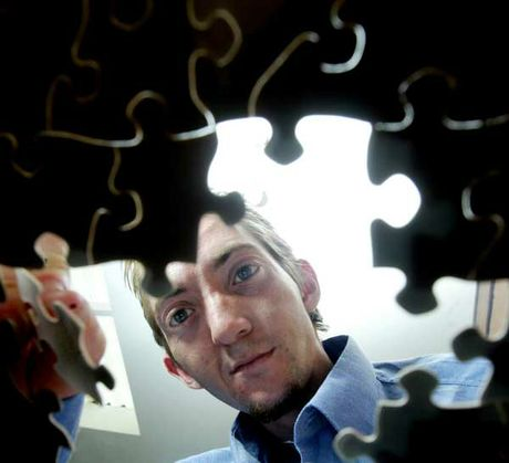 Jamie Smith (pictured) used to make jigsaws with his dad Trevor. Now Trevor has become the missing piece of the jigsaw for Margaret Keiller and her family tree.