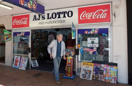 AJ&#39;s Lotto on Devonport Rd.