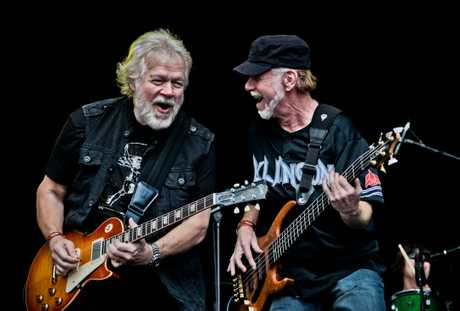 Randy Bachman and Fred Turner.