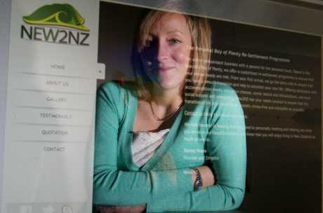 Jenny Mays launched personalised resettlement service New2NZ to help immigrants relocating to the Bay of Plenty.