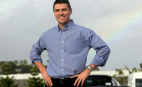 National's candidate Matthew Fraser.